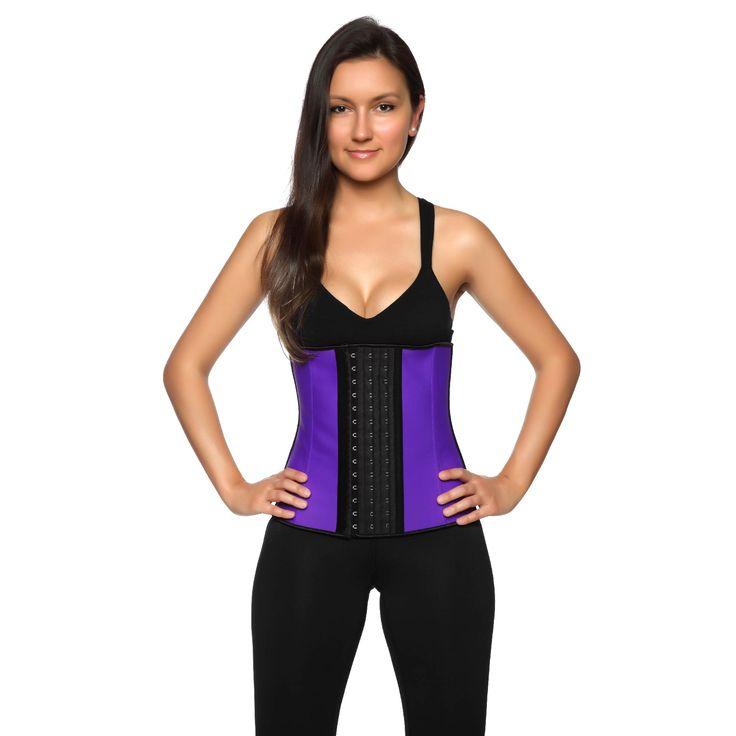 Purple Latex Waist Trainer from www.aussiewaisttrainer.com
