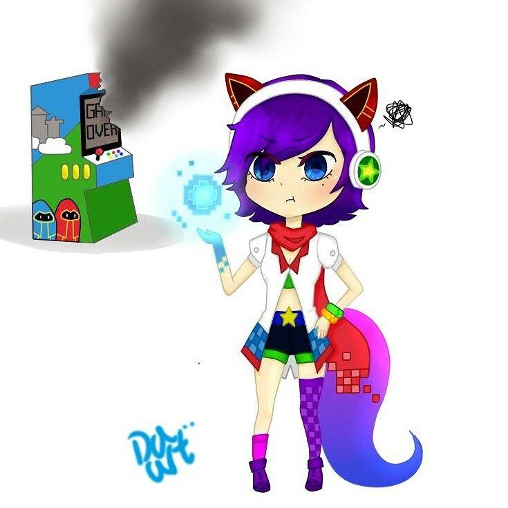 Ahri Arcade ahri My draw❤ #ahri #arcade #arcadeahri #lol #leagueoflegends #cute #chibi