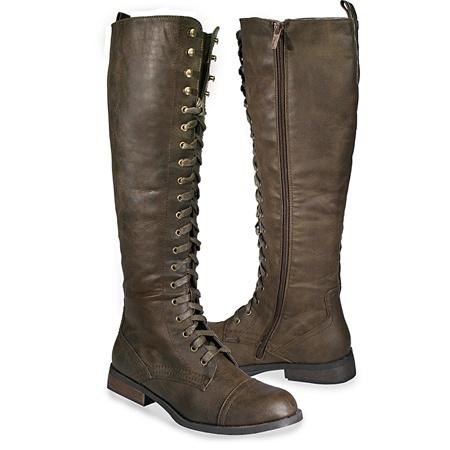 Brown Laced Boots: Brown Laced, Boots Boots, Style, Lace Up Boots, Brown Boots, Combat Boots
