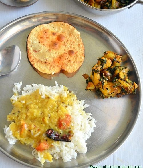 58 best lunch menu images on pinterest lunch menu luncheon aloo methi curry simple north indian forumfinder Image collections