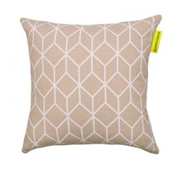 Cubed Cushion White   The Block Shop - Channel 9 $69.95 #InteriorDecorating #HomeFurnishings #DecoratingIdeas #InteriorDesignIdeas #DIYDecorating #Homewares