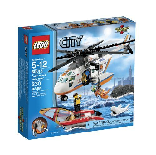 LEGO Coast Guard Helicopter. For kids from 5 - 12 year olds to have fun with this toy.