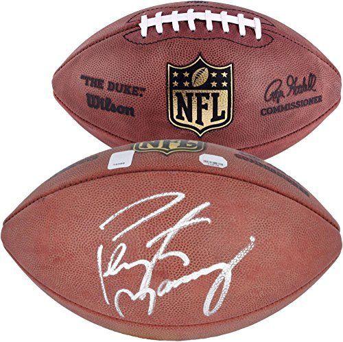 Peyton Manning Denver Broncos Autographed Duke Football - Fanatics Authentic Certified - Autographed Footballs