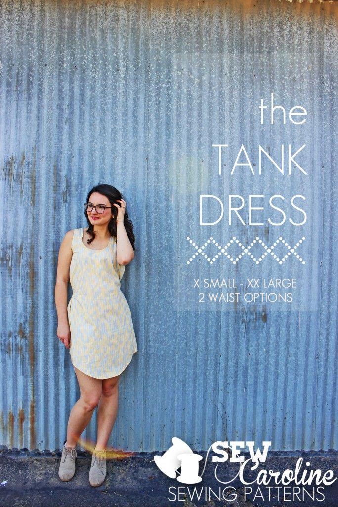 The Tank Dress RELEASE! - SewCaroline