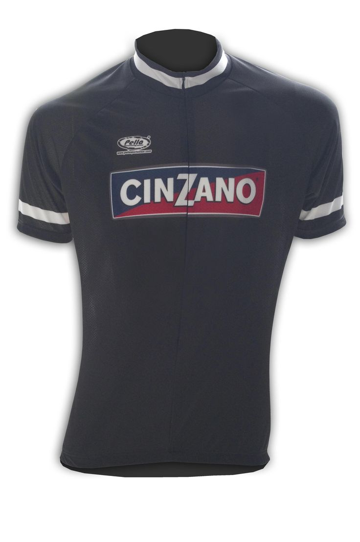 Maglia Ciclismo Manica Corta Cinzano Vintage - Store For Cycling