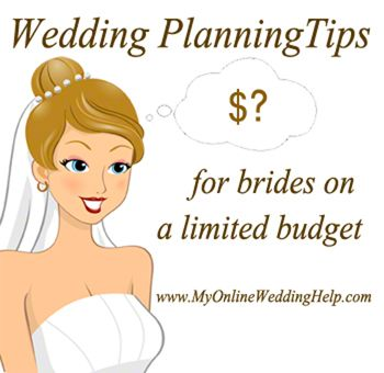Here are some tips on how to plan a #wedding on a small, or otherwise limiting budget ...cause it never hurts to save a little money