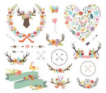This clip art pack features 22 images, perfect for scrapbooking, cards, web design, graphic design, invitations, handmade craft items, printed paper items and so much more! ✽ YOU WILL RECEIVE - 22 images - each one is approximately (300-1800px) at the widest point - high quality 300dpi PNG files with transparent background ✽ INSTANT DOWNLOAD - For