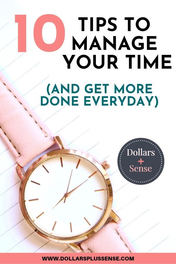 10 Tips To Improve Your Time Management Skills – Goal Setting