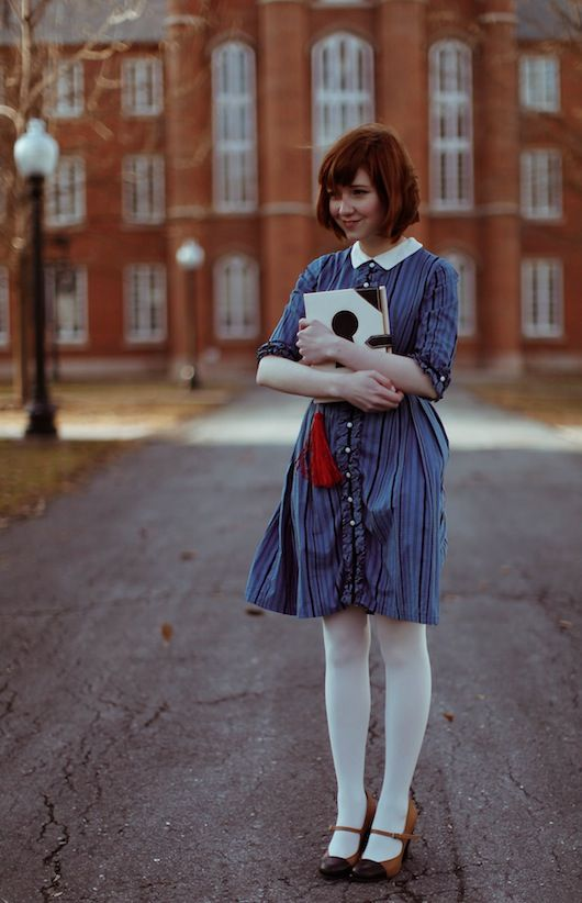 The Clothes Horse: The Twisting Schoolgirl