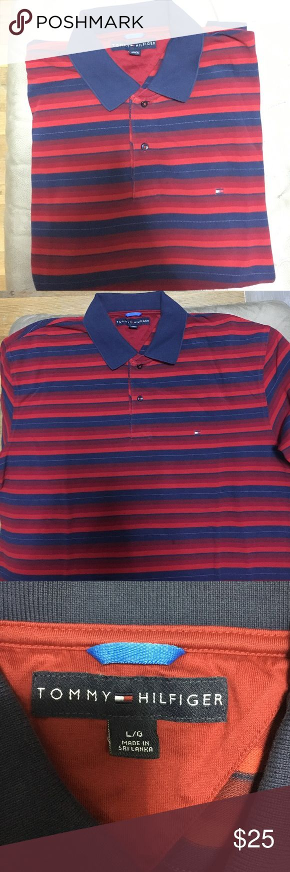 Men's Tommy Hilfiger polo Short sleeve polo from Tommy Hilfiger. Worn once. Offers! Tommy Hilfiger Shirts Polos