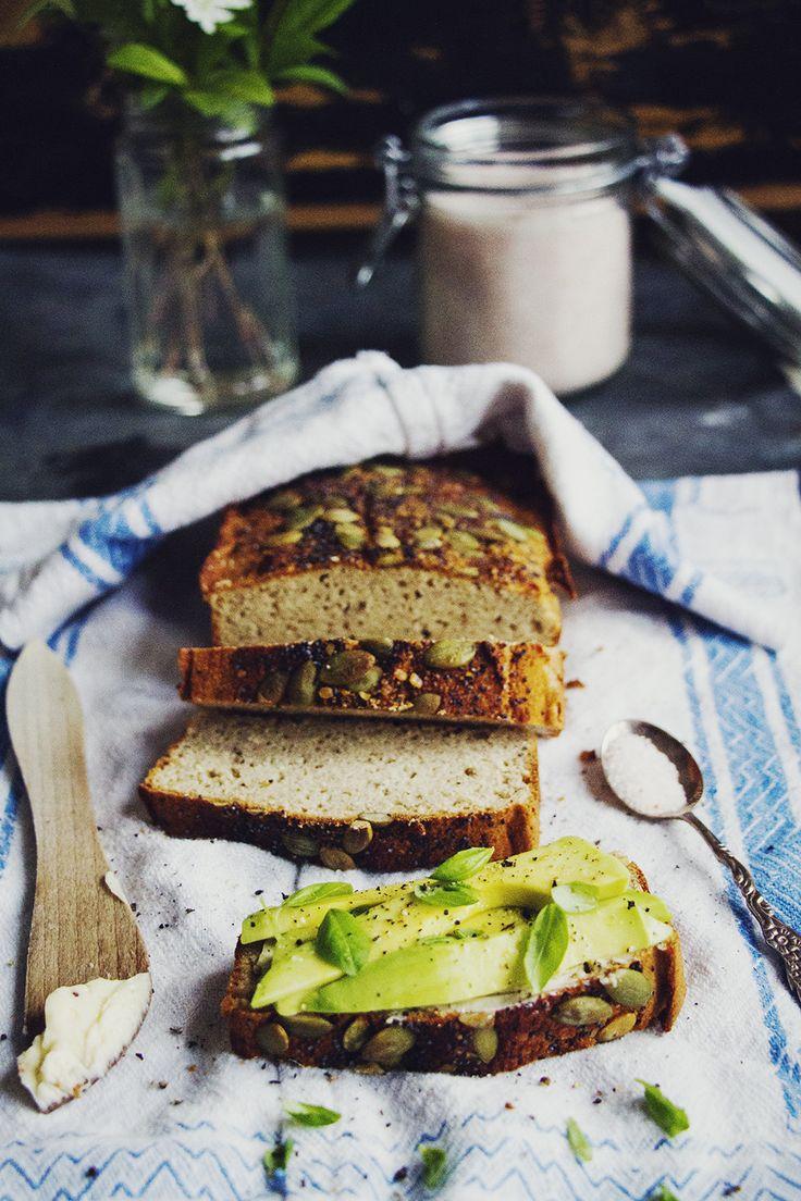 Gluten-Free Bread with Buckwheat and Coconut Flour Recipe (Dairy-Free, Nut-Free, Sugar-Free)