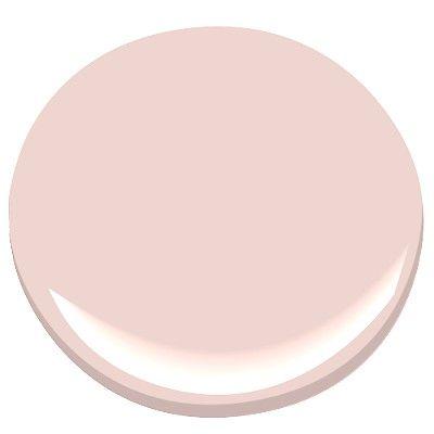 Pleasant Pink 2094-60 Paint - Benjamin Moore Pleasant Pink Paint Color Details