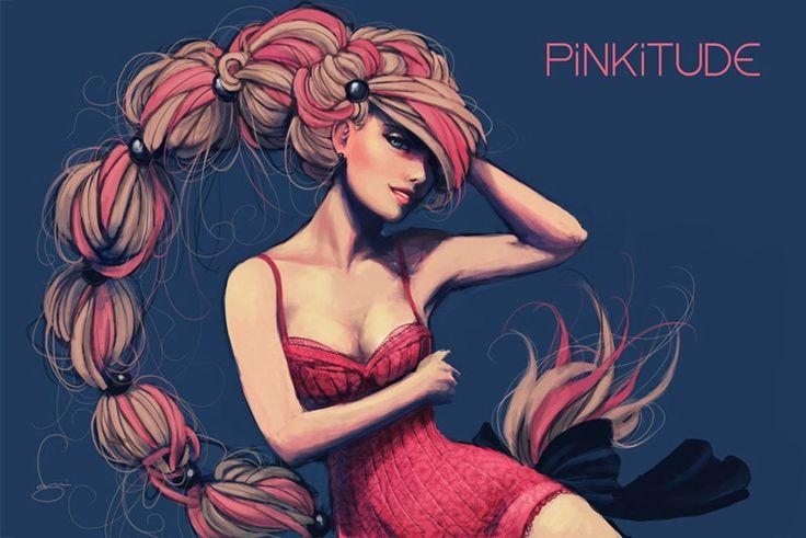 Pinkitude - created by ItalyLover