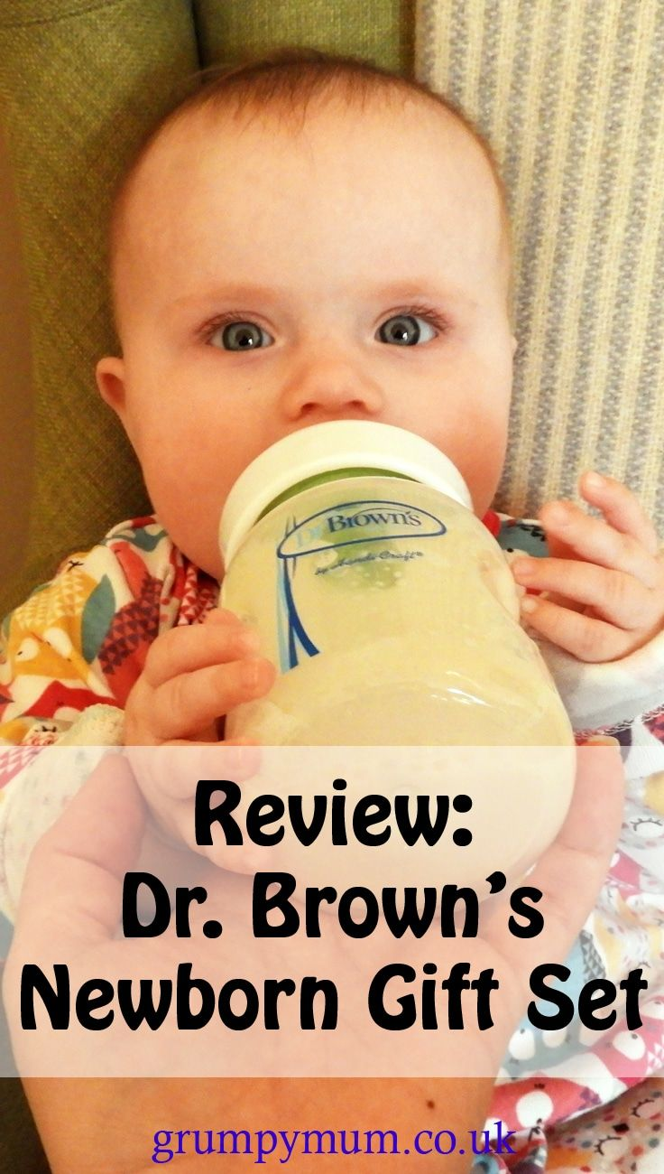 Dr. Brown's is a well known and loved anti-colic baby bottle brand. This review is of their new newborn baby gift set including 5 bottles, a steam steriliser and all the cleaning tools you will need.