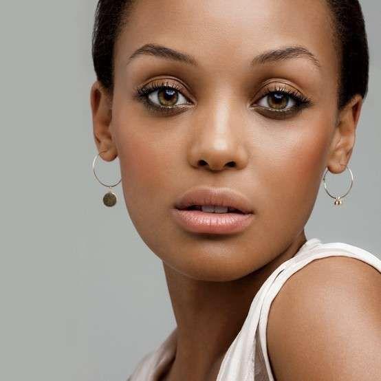 Make up occhi marroni - Make up nude