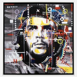 Che Guevarra 25x25 now featured on Fab.