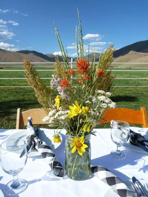 Dining At Lava Lake Ranch