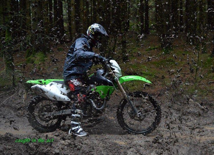 mud shower...  love it!