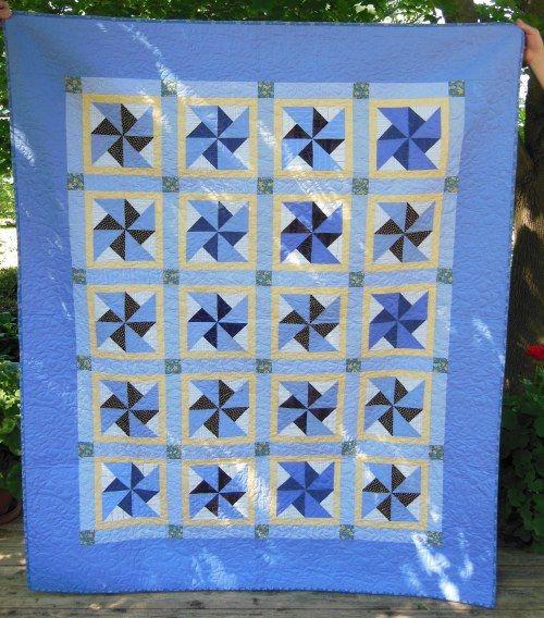 115 best PINWHEELS images on Pinterest | Quilt patterns, Being ... : double pinwheel quilt - Adamdwight.com