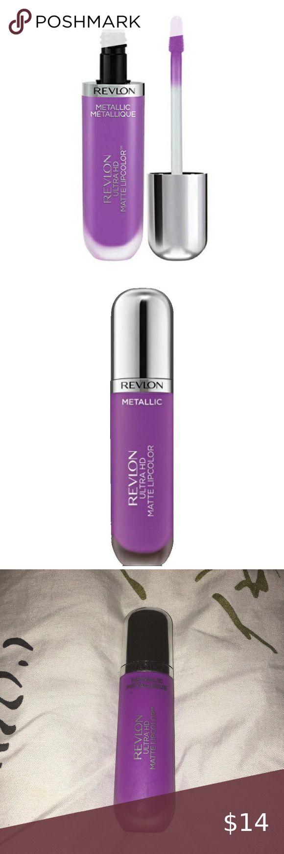 Revlon Matte Purple Lipstick in 2020 | Purple matte ...