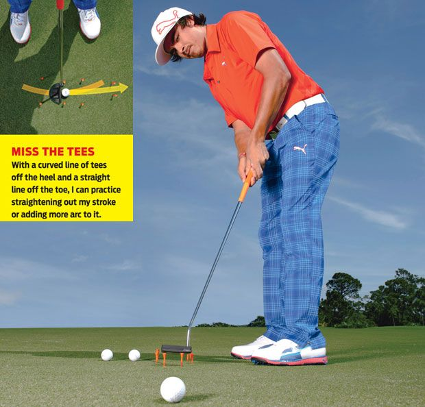 Rickie Fowler Putting Tips