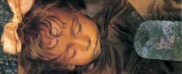 Rosalía Lombardo casi después de 100 años su cuerpo permanece intacto e incluso puede parpadear.