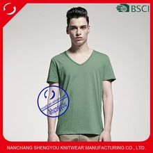 2015 fashion design 100% polyester custom mens v-neck blank tshirt  best seller follow this link http://shopingayo.space