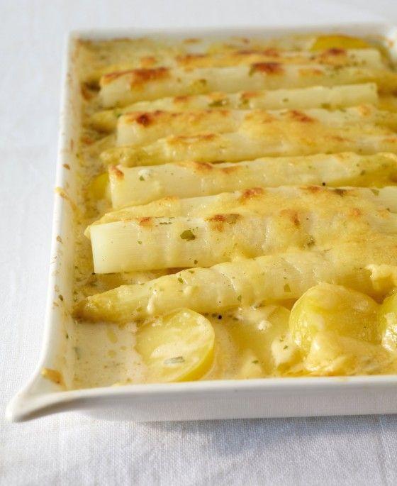 Gratinierter Spargel - Rezepte: Vegetarische Spargelrezepte - 15 - [ESSEN & TRINKEN]