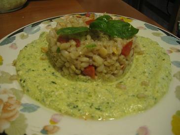 #veganrecipe #ricettavegane #primivegani #primi #orzo #tofu