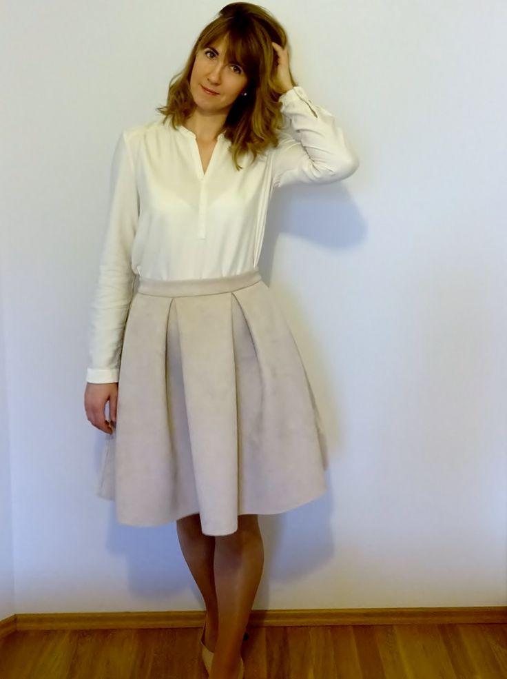 Bluzka, simplicity.com (New Look Pattern 6374); blouse