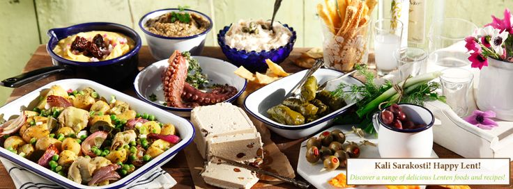 Clean Monday's Lenten and delicious appetizers land on your table from all over Greece…just a click away from you!  Because fasting can be…gourmet! #yolenistaste www.yolenis.com