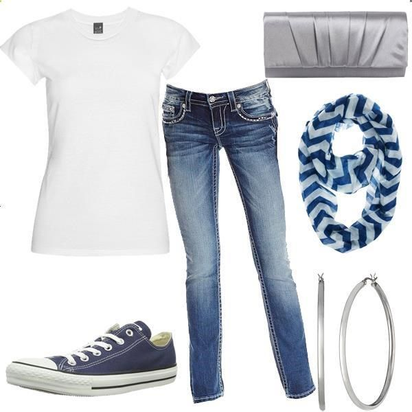my everyday w0rk wear - jeans , white shirt and sneakers .. gLad that i have f0und these accessories that can add t0 L0ok fab;)