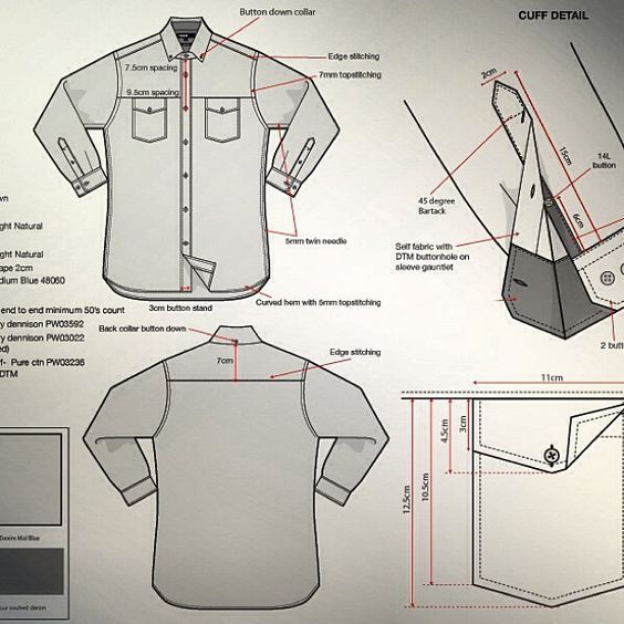 Shirt Techpack: