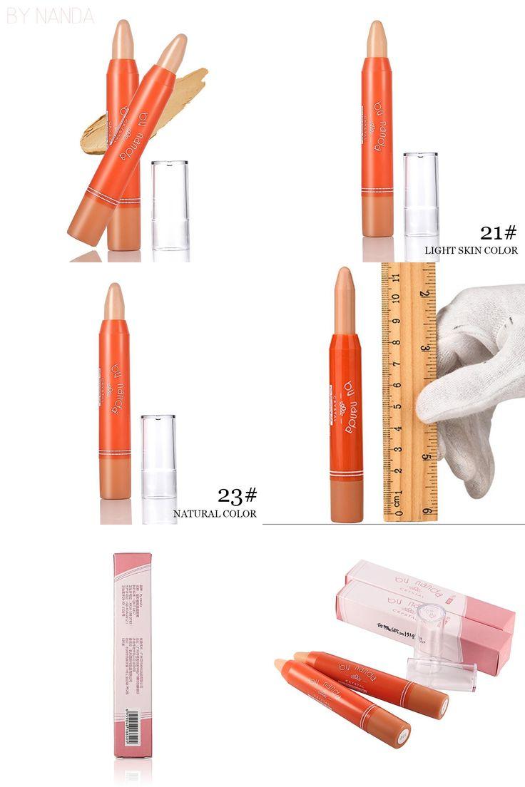 [Visit to Buy] BY NANDA Face Foundation Creamy Camouflage Concealer Pen Brand Eye Concealer Stick Facial Makeup Mineral Contour Concealer #Advertisement