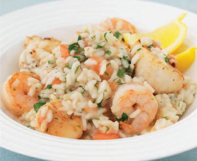 Mouthwatering Seafood Risotto Recipe | My Easy Menu