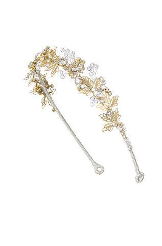 Lazuline Headdress II Crystal Gold