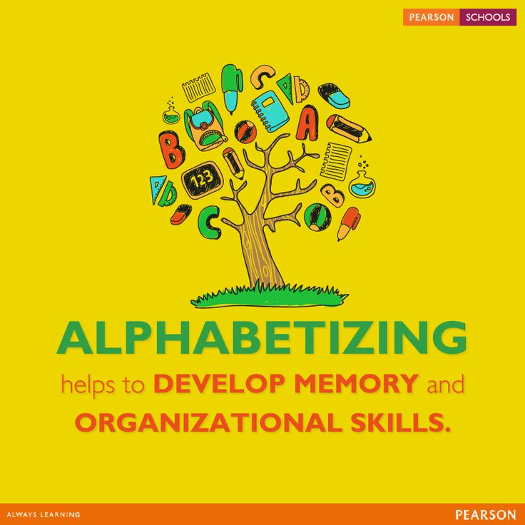 Alphabetizing is nothing but arranging alphabets in order. It is a skill which helps students in both home and school tasks. Using large ABC cards, children's dictionary and games that are appropriate for alphabetizing helps in improving memory and organizational skills. #LearningMadeEasy