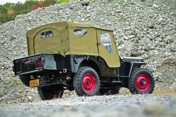 Basic Black - 1948 Jeep CJ2A - Polished to a high shi | Hemmings Motor News