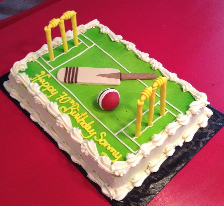 cricket pitch cakes - Google Search