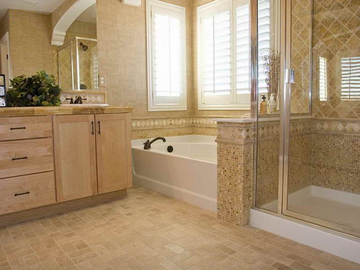 Bathroom Shower Tile Design Ideas With Large Space