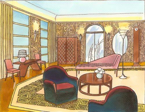 Art Deco 500x386 Pixels