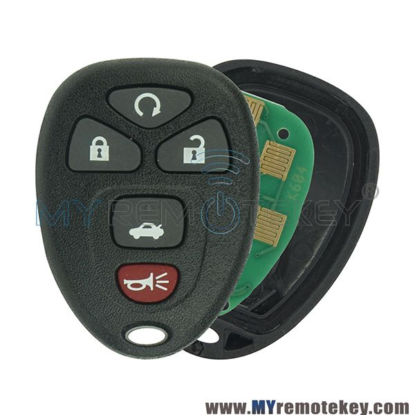 22733524 Remote Fob For Chevrolet Buick Pontiac 5 Button 315mhz