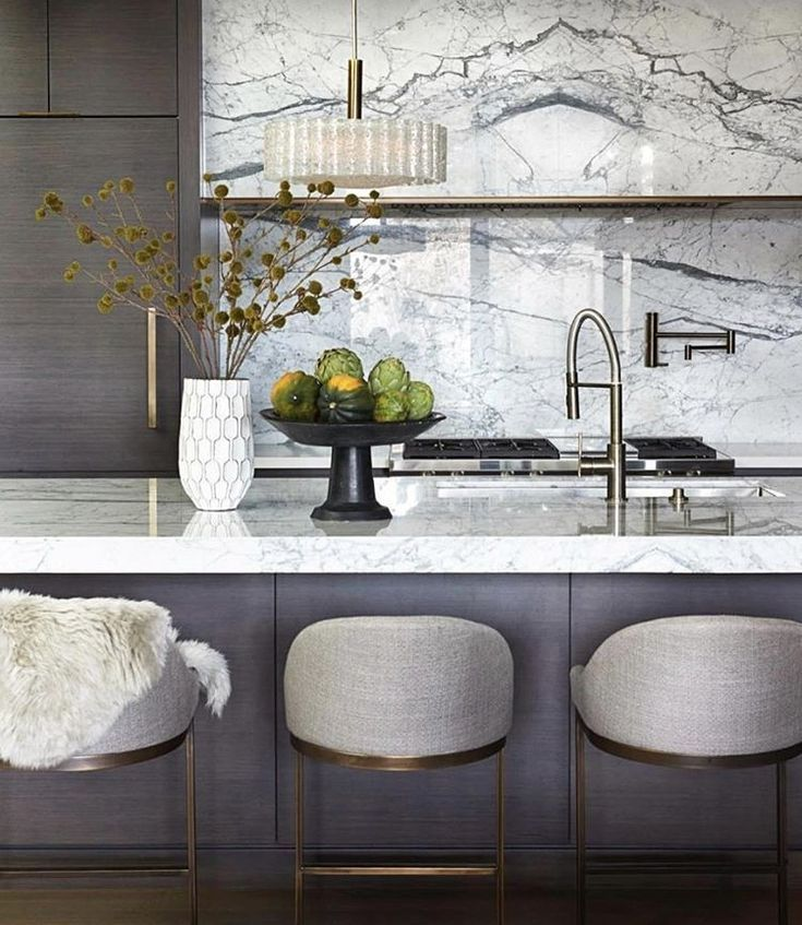Ultra luxe kitchen design