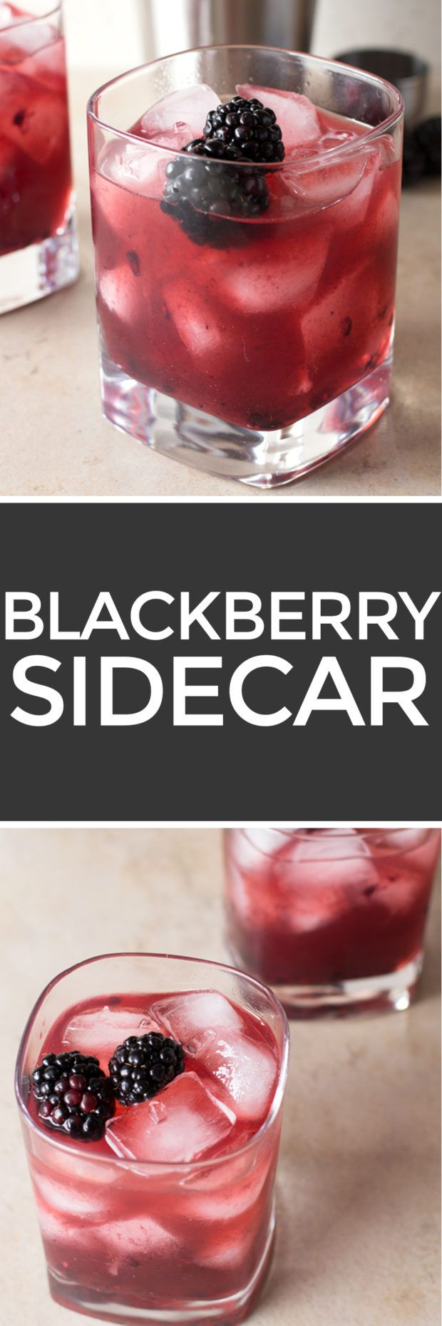Blackberry Sidecar – Cake 'n Knife