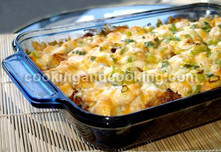 Spicy Potato and Chicken Casserole | Feed Meee! | Pinterest