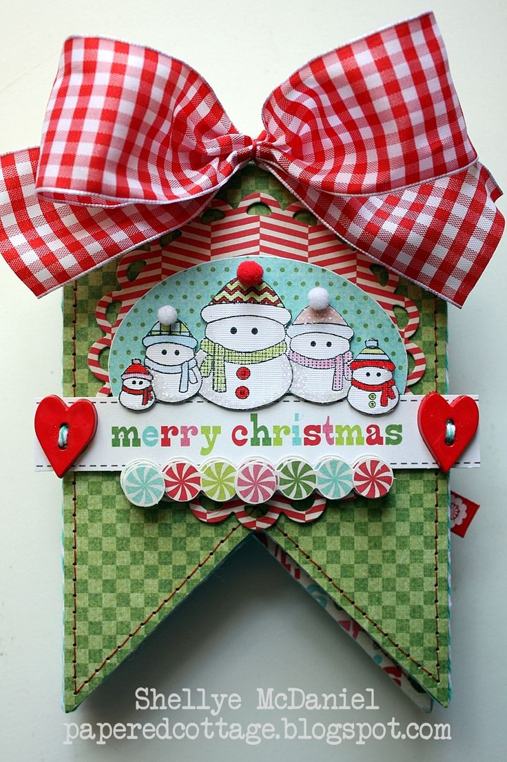 463 best Christmas paper crafts images on Pinterest  Christmas