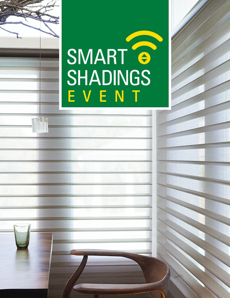Get a $200 rebate when you purchase select window shadings during the Smart Shadings Event.   For a limited time.   Find your local dealer at HunterDouglas.ca