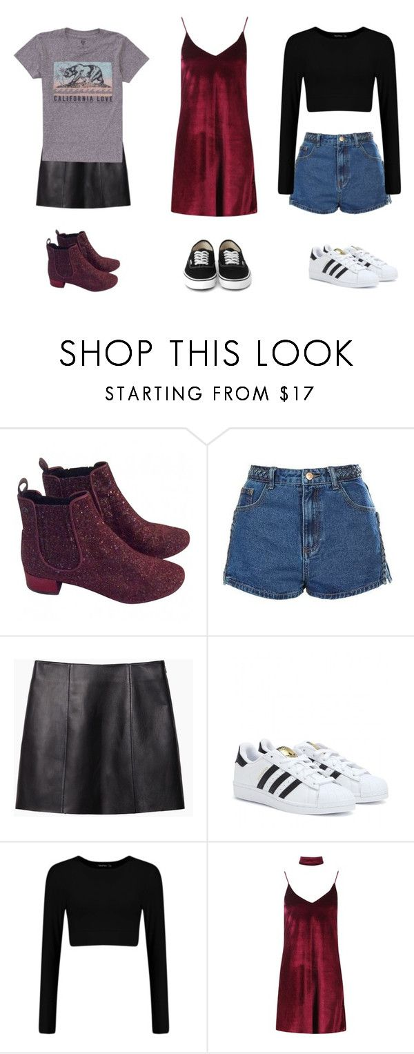 """"""","""" by anaunderground on Polyvore featuring moda, Urban Outfitters, Topshop, T By Alexander Wang, adidas, Boohoo e Billabong"""