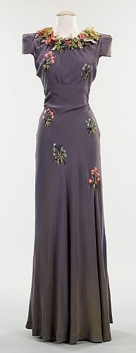 Elsa Schiaparelli Pagan dress ca. 1928 via The Costume Institute of The Metropolitan Museum of Art