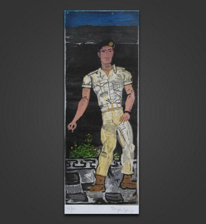 Τσαρούχης Γιάννης-Φαντάρος – Yannis Tsarouchis [1910-1989]   paletaart – Χρώμα & Φώς